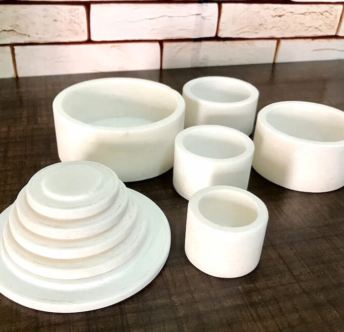 white-marble-containers